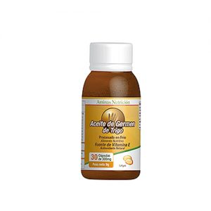 Aceite de Germen de Trigo (Vitamina E) 200 cáps.