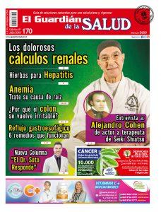 Edición 170 Los dolorosos cálculos renales – El Guardián de la Salud Digital