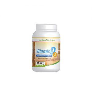 Vitamina D3 300mg 60 cápsulas