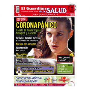 Edición 190 CORONAPÁNICO: Gánale en forma lógica, biológica y natural- El Guardián de la Salud Digital