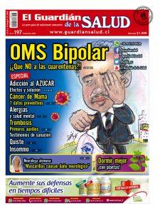 Edición 197 | OMS Bipolar ¡¿Que NO a las cuarentenas?! – El Guardián de la Salud Digital