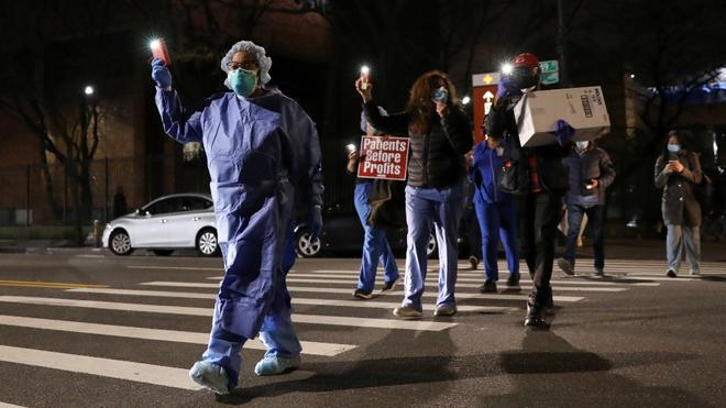 Nueva York podría perder hasta 70 mil funcionarios de salud, debido a la obligación de vacunarse para el K0*B!D